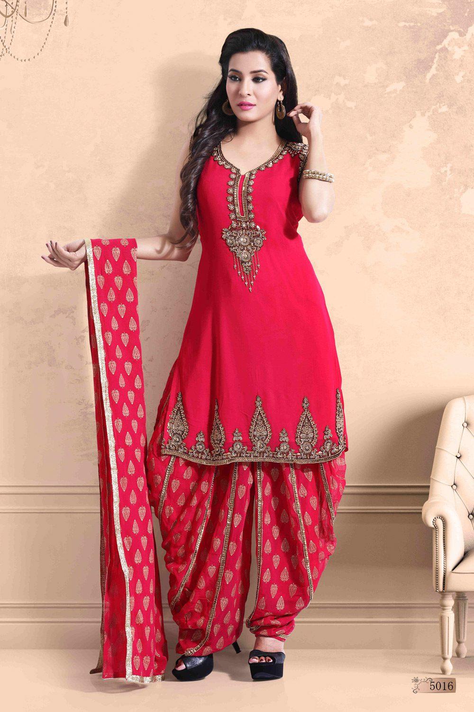 Glamourous Dhoti Patiyala outfit