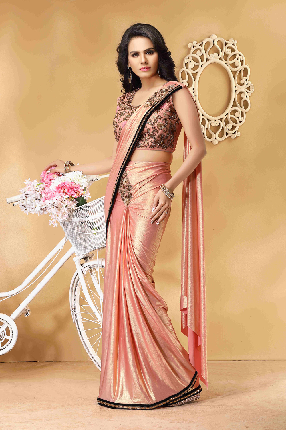 Ready to wear sari for any special occasion