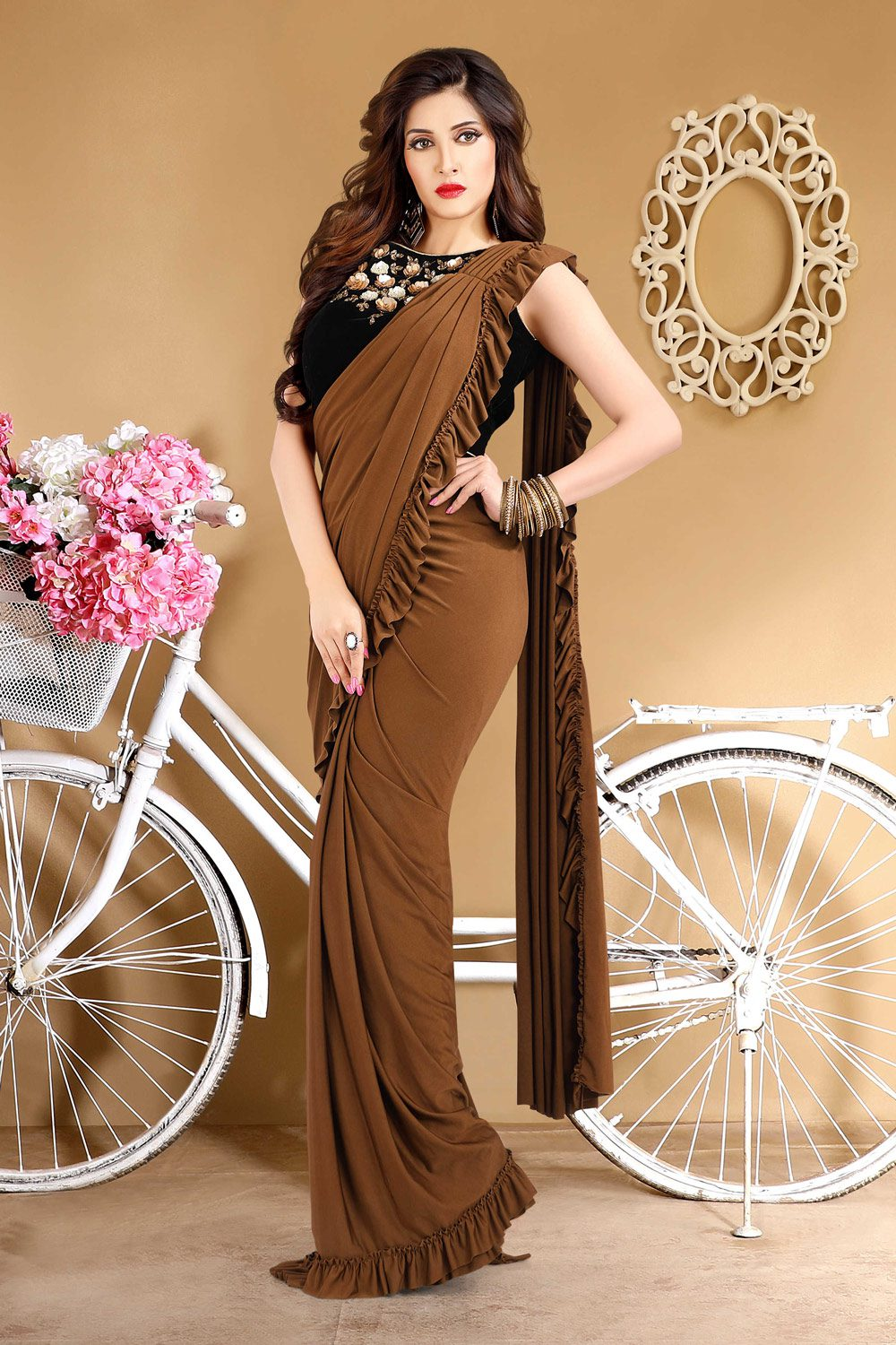 Easy to wear ready sari for any occasion