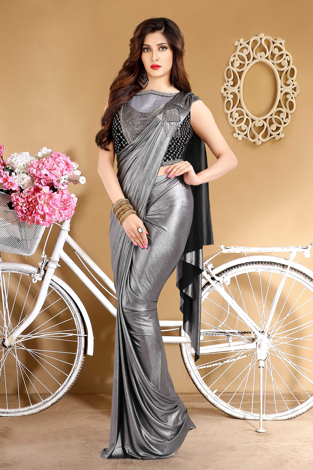 Glamorous sari for any special occasion